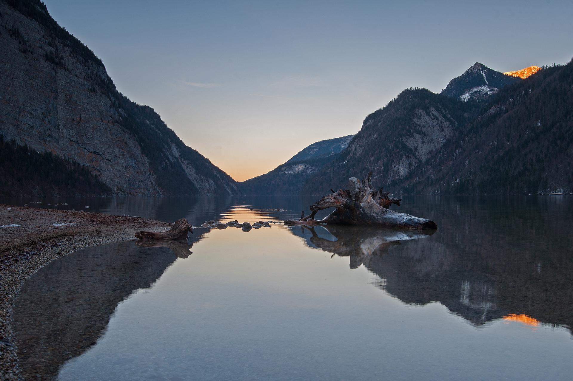 Ruhe in den Alpen