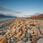 Blick Richtung Longyearbyen