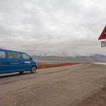 Östliches Ende Longyearbyens